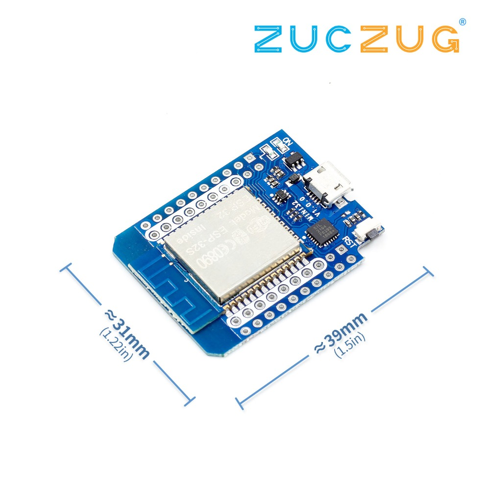1 Set For Wemos MINI D1 ESP32 WiFi + Bluetooth For Wemos D1 Mini Esp8266 Module With Pins1 Set For Wemos MINI D1 ESP32 WiFi + Bluetooth For Wemos D1 Mini Esp8266 Module With Pins