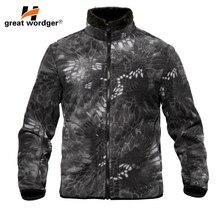 Xhaketë ushtarake dimri të kamuflazhit xhaketë të ngrohtë Taktike me xhaketë me kapuç termal me kapuç burra xhaketa veshje të jashtme të jashtme