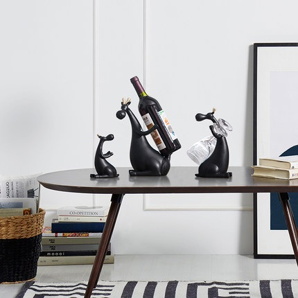 Aliexpress.com : Buy North European Modern Wine Rack Deer Ornaments  Creative Living Room Decoration Home Furnishing TV Cabinet Cabinet  Housewarming G From ... Part 75