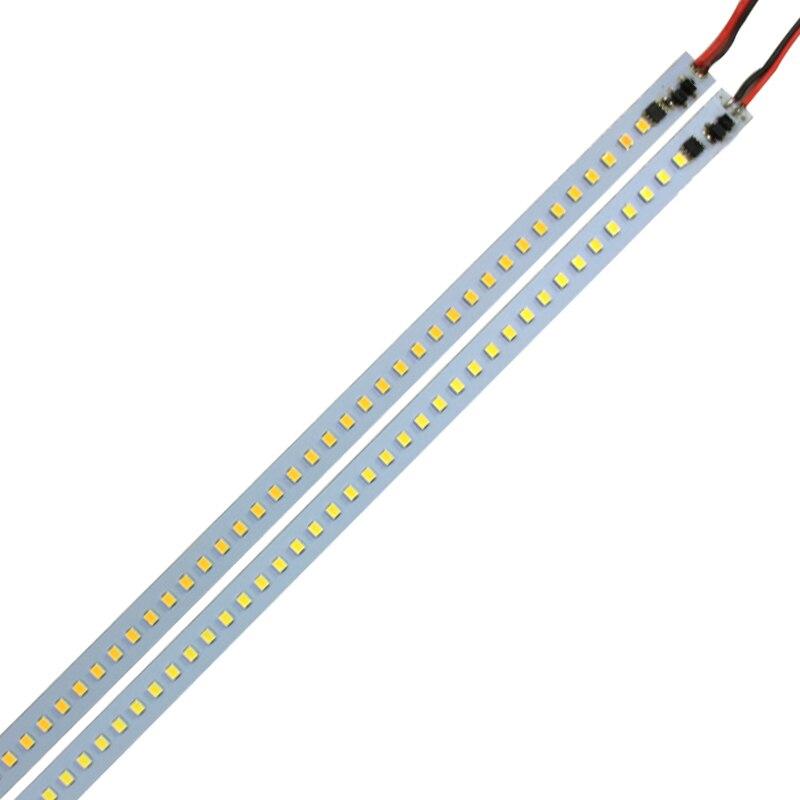 ③1 M SMD 2835 led luces tira dura barras luz AC 110 V 220 V 100 cm ...