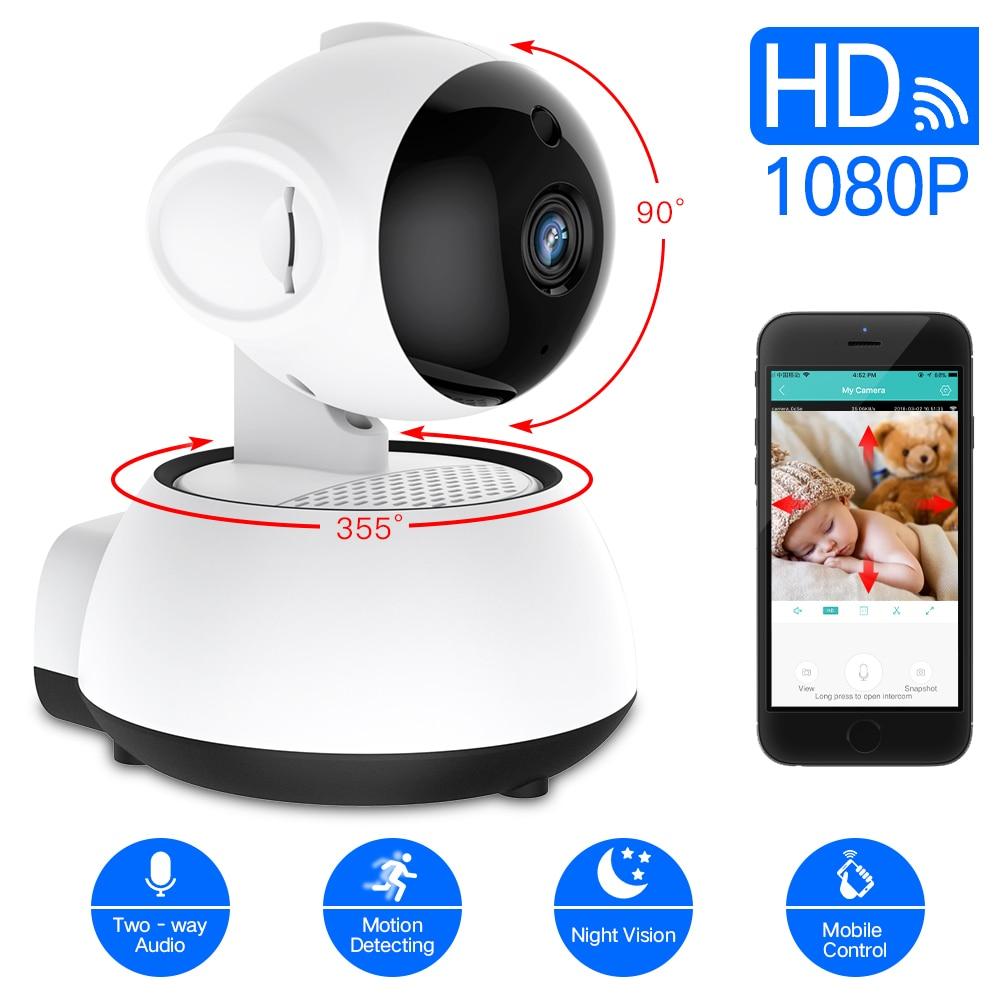 SDETER de seguridad inalámbrica cámara IP WIFI de la Cámara de CCTV Cámara 1080 P 720 P de vigilancia de Audio P2P noche visión bebé monitor Cam