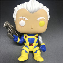 POPS Marvel X-Men Cable model Vinyl Action Figure Collectible Spring head Model Toy No Box недорого