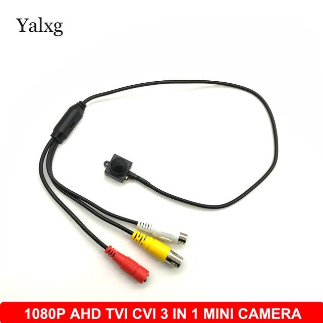 Home Security 1080 P 1920*1080 AHD TVI CVI 3 IN 1 Mini Überwachungs Kamera CCTV H.264 3,7mm objektiv 2MP Verdrahtete Farbe Sicherheit Kamera