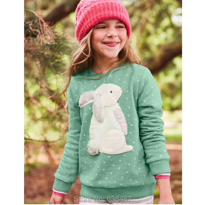New 2018 Brand Quality 100% Cotton Sweaters Baby Girl Clothes Long Sleeve Children Clothing Kids Sweatershirts Bebe Girls Blouse цена