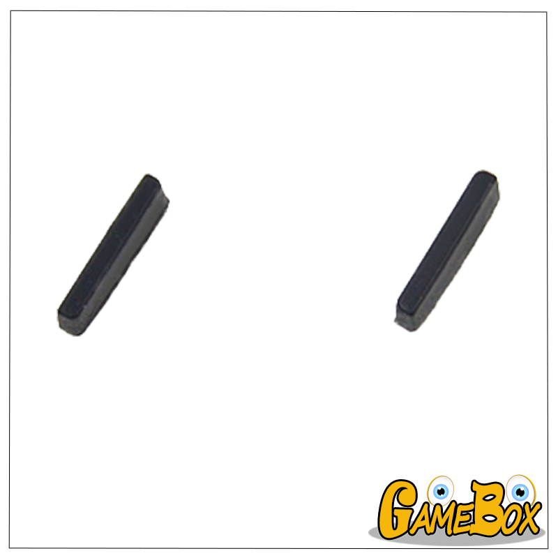 Original Upper Stopper Hole Pad Rubber Plug For Nintend 3DS Top Screen Rubber Strip For 3DS Console