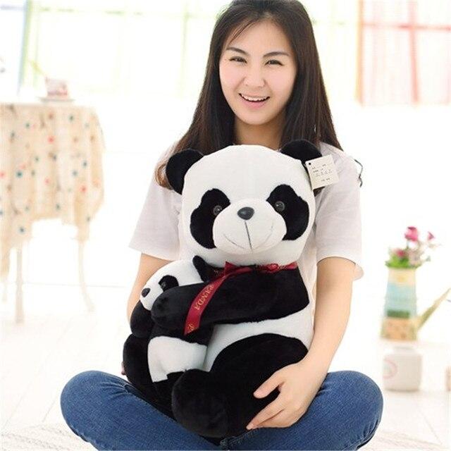 Плюшевая игрушка панда отец и сын 2