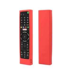 Image 2 - SIKAI מקרה סיליקון מקרה עבור SONY קול שלט רחוק RMF TX200 עבור Sony OLED חכם טלוויזיה מרחוק מקרה מגן מקרה עבור מרחוק