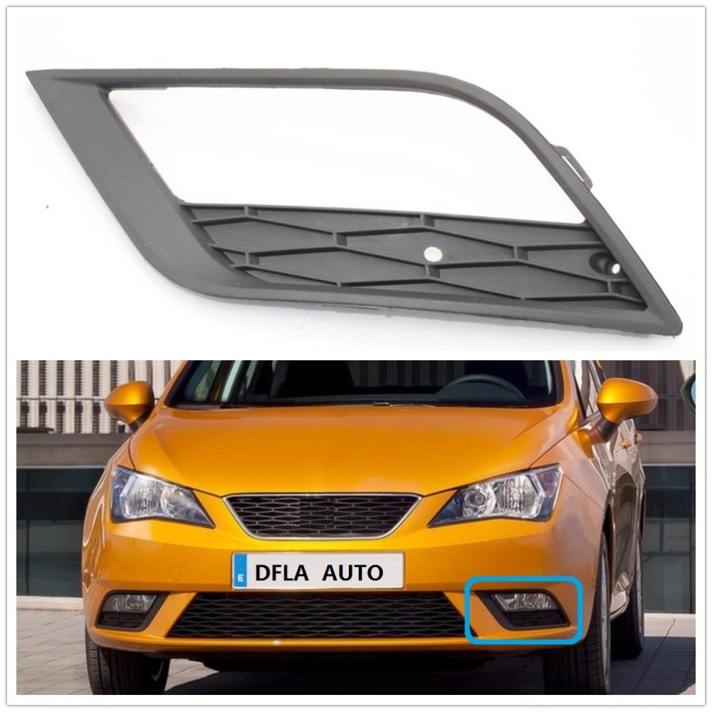 On New Front Bumper Fog Grille With Fog Hole Right O//S Vw Transporter T6 2015