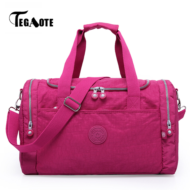 Aliexpress.com : Buy TEGAOTE Women Travel Bag Large Capacity ...