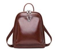 Новое поступление Amasie 2019 милая девушка рюкзак винтаж для женщин Книга сумка для ноутбука двойной следует