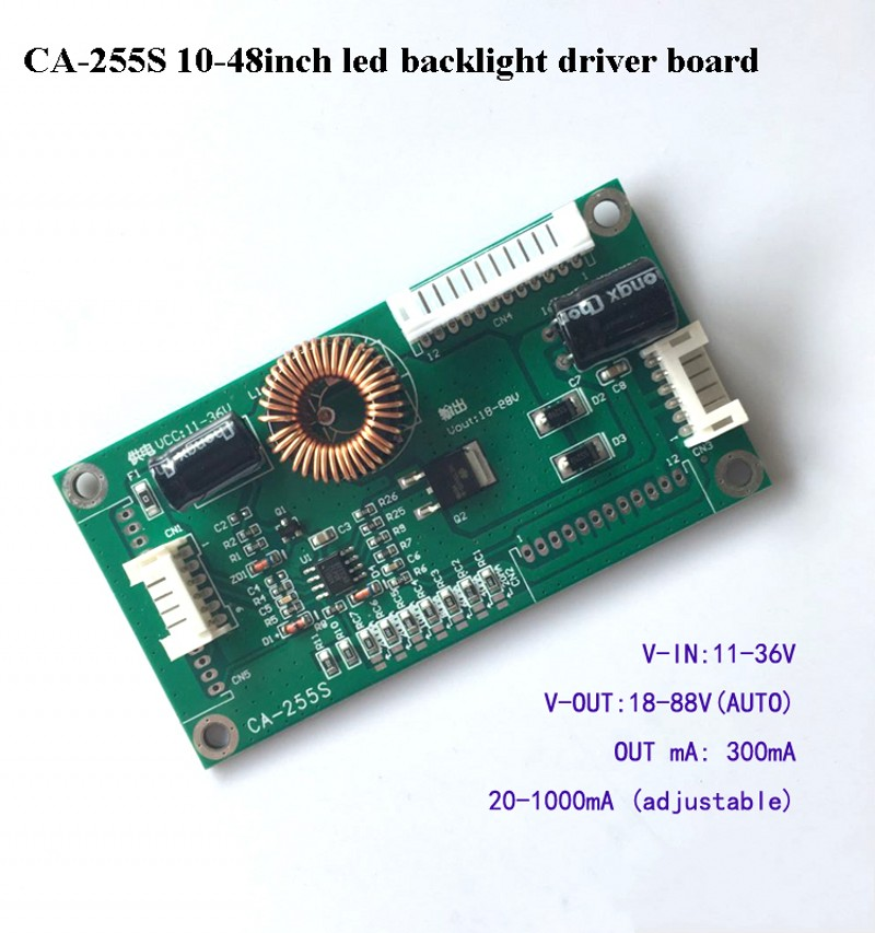 10-48 inch LED LCD TV Backlight Constant Current Board Boost driver board