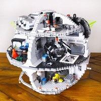 2016 New LEPIN 05035 3803Pcs Star Wars Death Star Model Building Kit Blocks Bricks Compatible Children