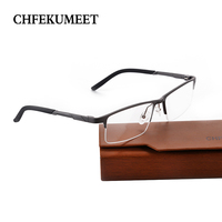 CHFEKUMEET Metal Prescription Eyeglasses Glasses Optical Transparent Myopia Photochromic Lenses Reading Computer Oculos