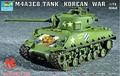 Trumpeter  tank model 07229 Sherman tank M4A3E8 (T80 crawler)