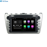 YESSUN For Mazda 6 Mazda6 Ruiyi Ultra 2008 2012 Android Car Navigation GPS Audio Video Radio