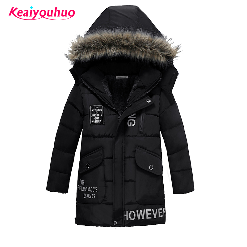Baby <font><b>Boys</b></font> Winter Outwear 2017 Children <font><b>Boys</b></font> Jackets fashion Girls Winter Coat 3-7 year <font><b>Boys</b></font> &Girls Down Jacket Hooded Clothes