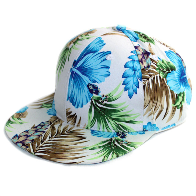 Ing Hats Print Flowers...