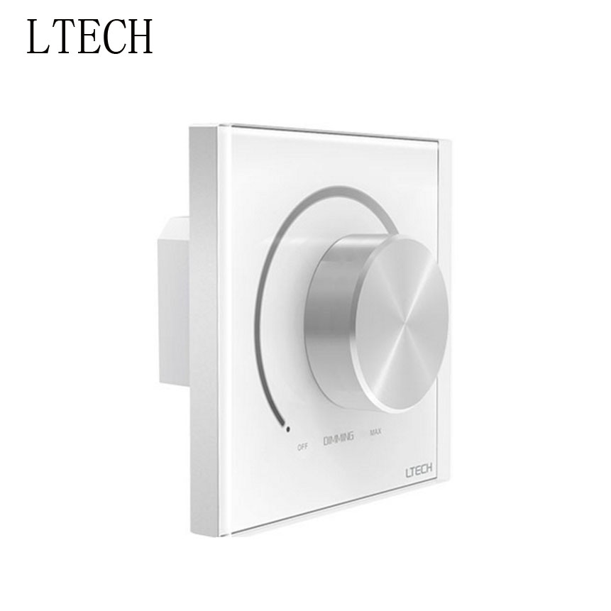 LTECH E610P 0-10 V bouton panneau gradateur 90-250Vac entrée 1-10 V gradation Signal sortie pour lumière LED