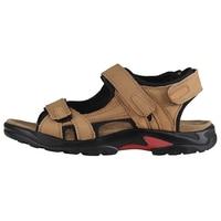 Hot Fashion Men's sandals Leather sandals men Casual Summer Comfortable leather Shoes plus size