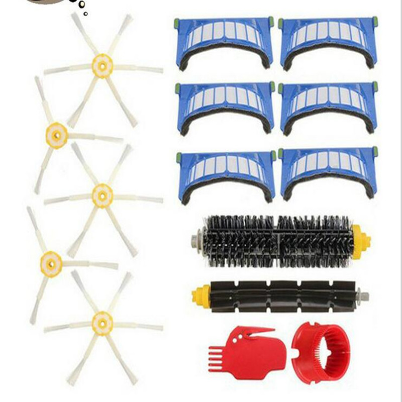 500/510/527/530/560/570 Robot Vacuum Cleaner Accessories 10 Hapa Filter + 2 Set Brush + 3 Triangle Side Brush Etc akg ivm4500 set bd7 500 1 530 5
