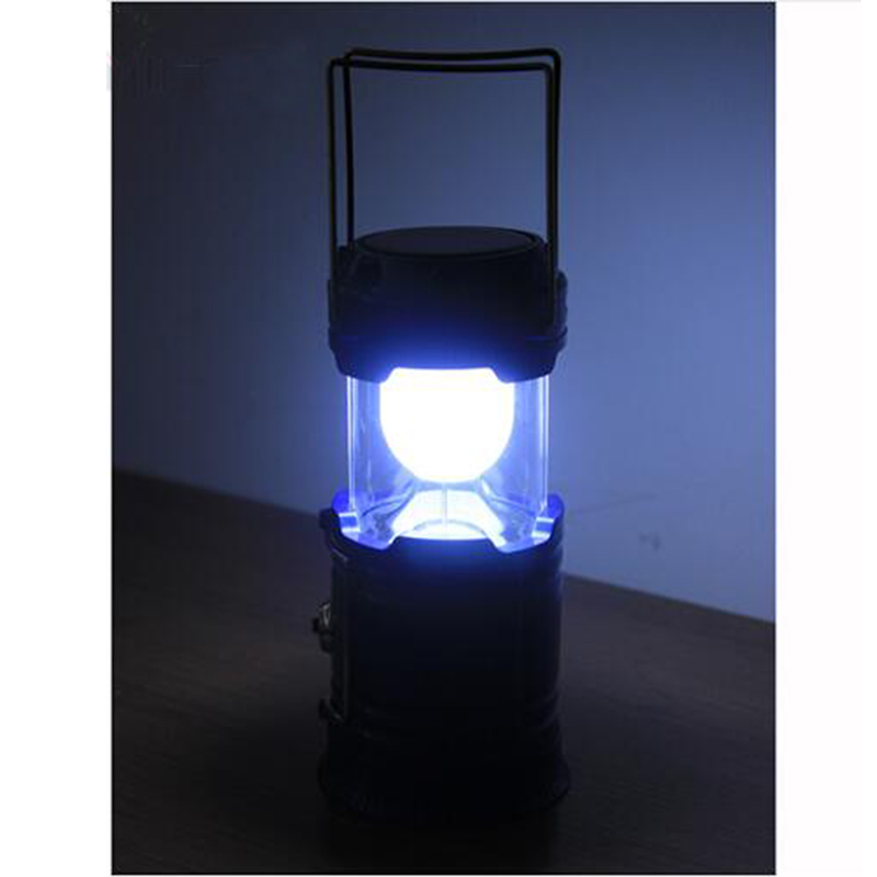 Powerful Led Camping Lamp Torch Portable Lantern Solar Charger USB Power Bank Rechargeable Camping Tent Light for Hiking 24 led white light solar powered rechargeable camping lamp lantern green white black