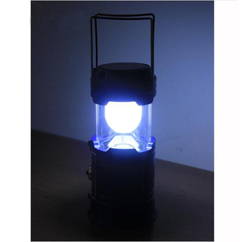 Snažni Led Kamp Svjetiljka Svjetiljka Prijenosni Lantern Solarni - Prijenosna rasvjeta