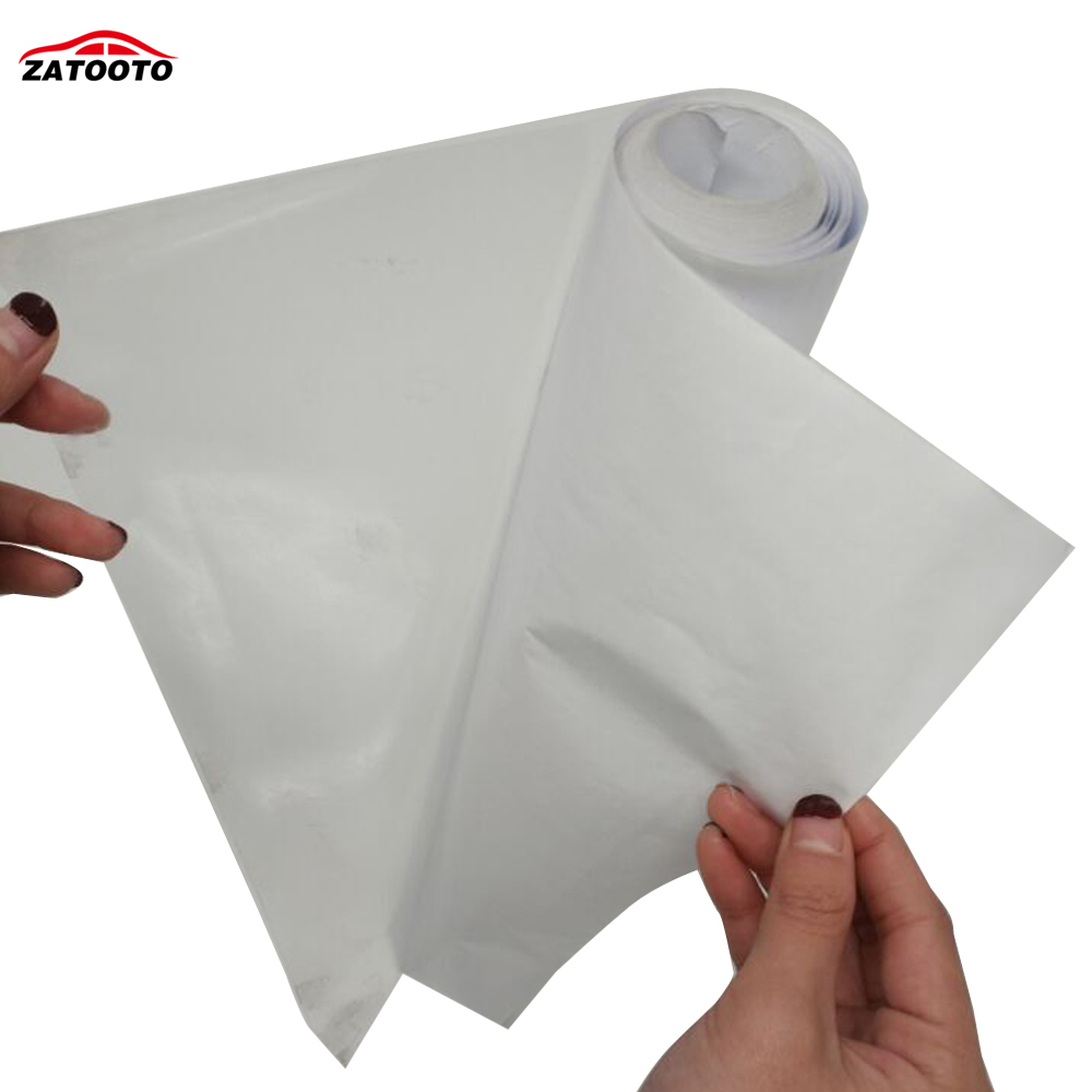 50CM 5M High Strength Rhino Skin Clear Transparence Film Car Bumper Hood Paint Anti Scratch Protection