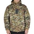 Мужская Softshell Ветровка Военный Тактический Камуфляж Куртка Охотничья Одежда Открытый Спорт Airsoft Отдых На Природе Походы Капюшон Пальто