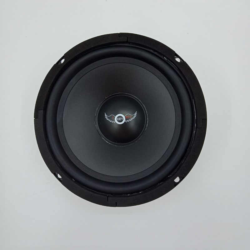 HiFi Black Speaker 8 Inch 400W 8Ohm Midrange Audio Louder Speakers For 5.1 Home Theater Russian Full Range Woofer