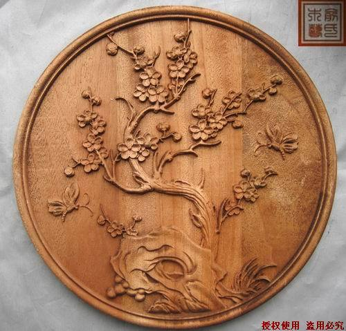 Dongyang Wood Carving Embossed Crafts Chinese Style