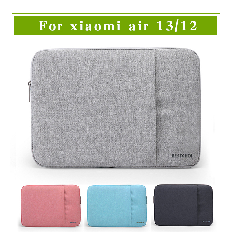 New laptop sleeve for xiaomi air notebook 12 13 inch for 13 inch table