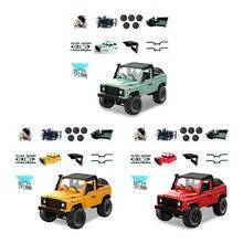 OTTDTY Rock Crawler D91 2,4G 4WD RC грузовик TRemote управление игрушка продукты в разобранном виде комплект Defender FEB27