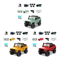 OTTDTY Rock Crawler D91 2.4G 4WD RC Truck TRemote Control Toy Products Unassembled Kit Defender FEB27