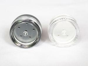 Image 5 - 48 pçs/lote 1g/1ml vazio solto recipiente de pó plástico frasco cosmético caixa de maquiagem com peneira sopro amostra recipiente frasco creme