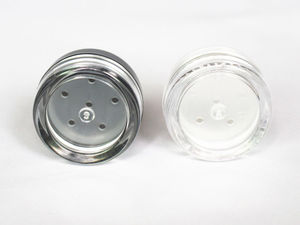 Image 5 - 48pcs/Lot 1g/1ml Empty Loose Powder Container Plastic Cosmetic Jar Makeup Case with Sifter Puff Sample Container Cream Jar