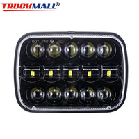 5x7Inch 12V 24V LED Truck Headlights Replacement Projector Headlamps For Jeep Cherokee XJ 1984 2001 Comanche MJ 1986 1992