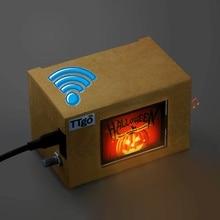 LILYGO®TTGO t galería ESP32 módulo WiFi Bluetooth 2,4 pulgadas pantalla LCD Placa de desarrollo