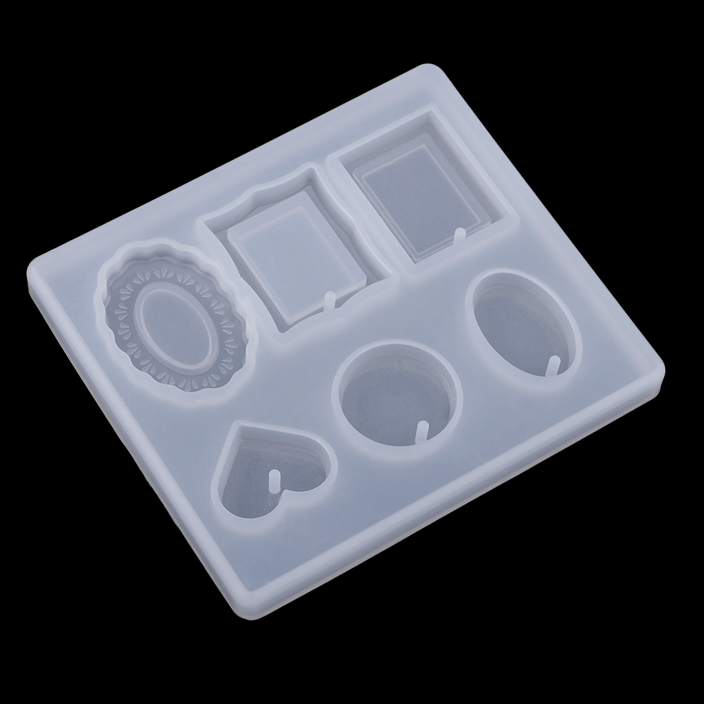 DIY Necklace Bracelet Pendants Charms Silicone Mould Jewelry Making Mold