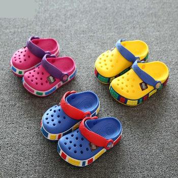 Cartoon Fashion Color Clog Clogs EVA Materials Kids Children Slippers baby garden shoe boys girls Toddler shoes