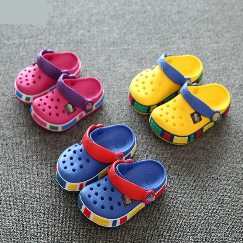 Cartoon Fashion Color Clog Clogs <font><b>EVA</b></font> <font><b>Materials</b></font> Kids Children Slippers baby Clog garden <font><b>shoe</b></font> boys girls Toddler <font><b>shoes</b></font> image