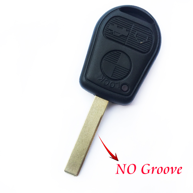 Image 2 - Replacement Car Remote key Fob Case For BMW E39 E36 E31 E32 E38 Smart key Shell 3 Buttons Auto Control key Cover Uncut Blade-in Car Key from Automobiles & Motorcycles