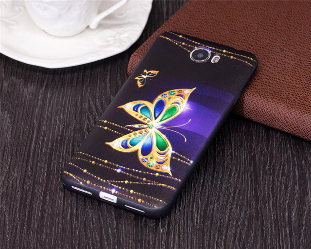 Soft cover sfor fundas Huawei Y 5ii / Y5 II CUN-U29 CUN-L21 CUN-L01 phone cases Silicone mobile cover for coque huawei Y5 2 case