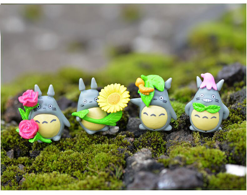 <font><b>Micro</b></font> <font><b>Landscape</b></font> <font><b>Creative</b></font> Gifts New 8 Totoro Doll Decoration Moss Hayao Miyazaki <font><b>Toy</b></font> Accessories