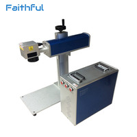 New innovation patent product 20w fiber laser marking machine with CNC marking technology for metal