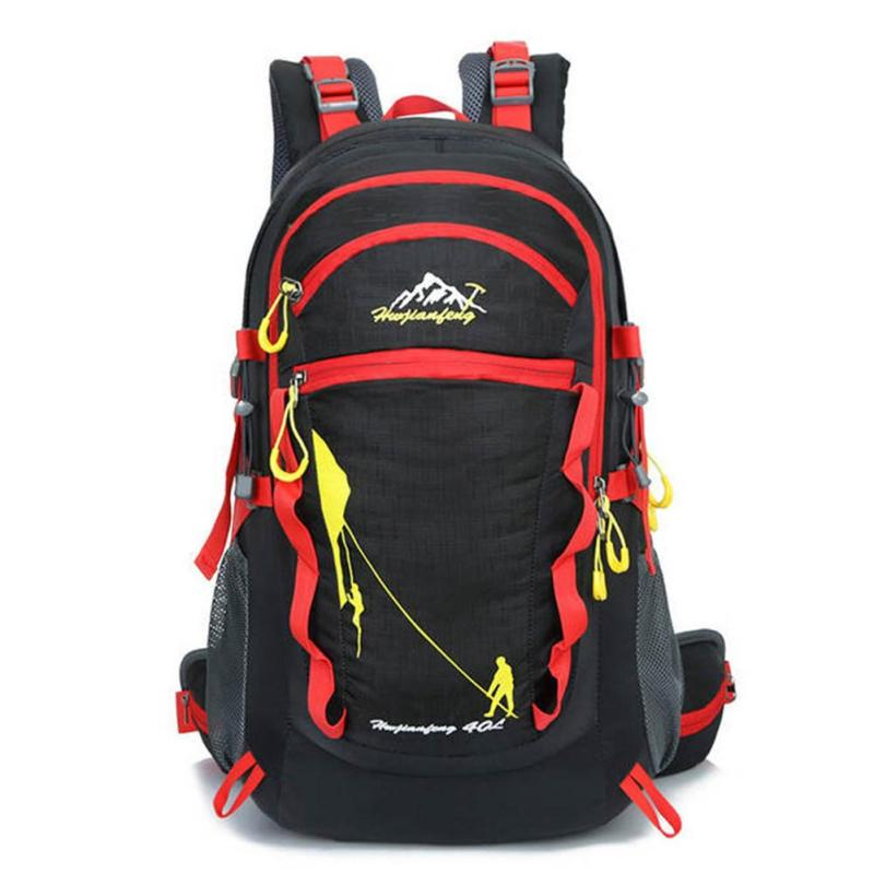 Lightweight Mountaineering Bag 40L Oxford Waterproof Travel Backpack for Female Male Knapsack Trekking Bags Rucksack Z1 laoa shoulders backpack tool bag multiction oxford fabric electrician bags knapsack for eletricista tools storage