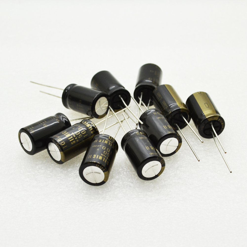 10pcs ELNA SILMIC II 10uF//35V Audio Electrolytic Capacitor-6002
