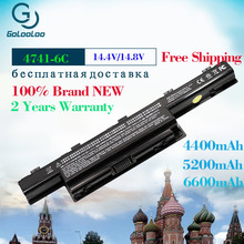 Golooloo 6 cells Laptop Battery For Acer Aspire AS10D31 AS10D51 AS10D61 AS10D71 AS10D75 AS10D81 5551G 5560G 5741G 5750G V3 5741 цена 2017