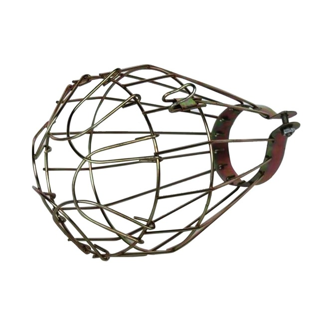 Retro industrial iron bird cage lampshade edison bulb cover retro industrial iron bird cage lampshade edison bulb cover antique factory wire steel lampshade pendant light keyboard keysfo Images