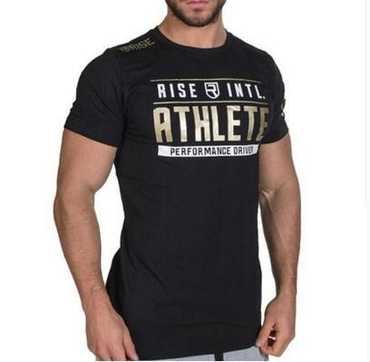 Summer Men Gyms Fitness T...