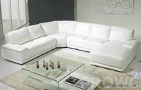 Simplicity White Sofa Settee Modern Furniture U shaped hot sale house furniture, classic design sofa set Living Room Furniture